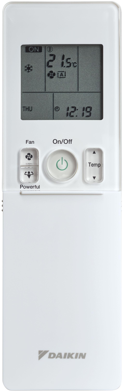 DAIKIN Klimaanlagen SET,  STYLISH Wandgerät R-32 (blackwood) / DAIKIN Wärmepumpen Inverter – Außengerät R-32